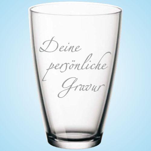 Deine persönliche Gravur Shop-Glas