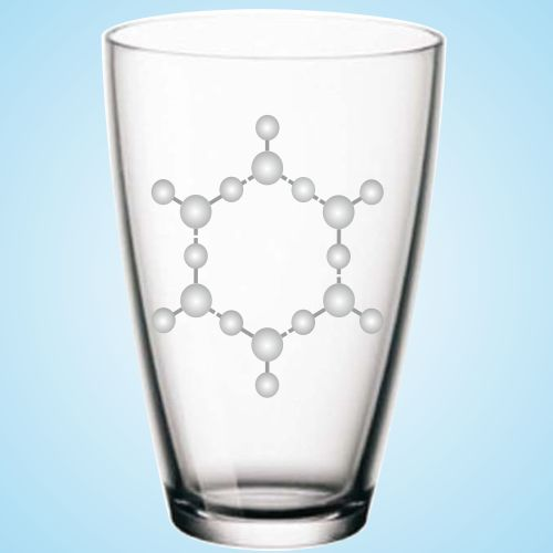 Hexagonales Wasser - unsere Lebensformel